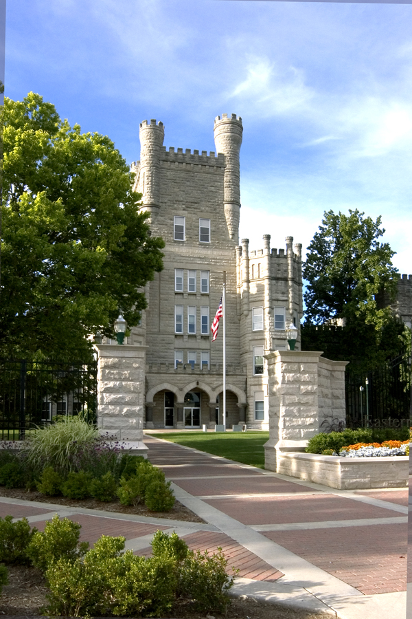 Eastern Illinois University Old Main.